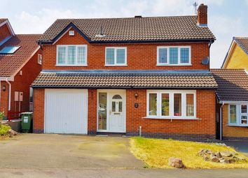 Thumbnail 3 bedroom detached house to rent in Winterfield Close, Glenfield, Leicester