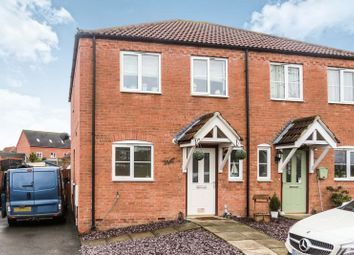 Thumbnail 2 bed semi-detached house for sale in Spindlewood Drive, Bourne