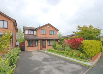 Thumbnail 3 bed detached house for sale in Elmstead Crescent, Leighton, Crewe