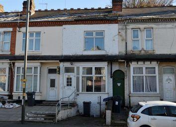 Thumbnail 2 bed terraced house for sale in Slade Road, Erdington, Birmingham