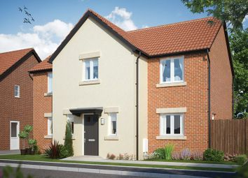 Thumbnail 4 bed detached house for sale in Monks Meadow, Llanwern, Newport