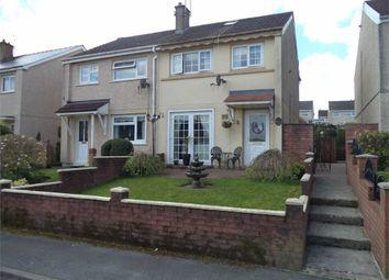 Thumbnail 2 bed semi-detached house for sale in Brynawelon, Nantyglo, Ebbw Vale, Blaenau Gwent