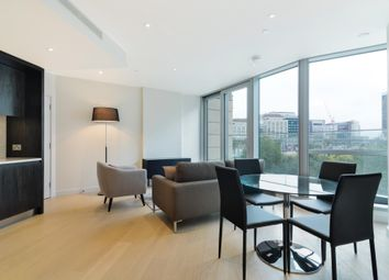 Thumbnail 2 bed flat to rent in Charrington Tower, New Providence Wharf, London