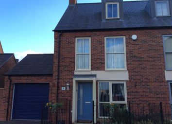 Thumbnail 3 bed semi-detached house for sale in Eastcote Avenue, Lawley, Telford