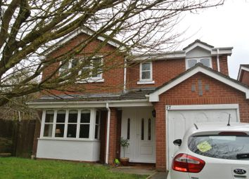 Thumbnail 4 bed detached house to rent in Gainford Rise, Binley, Coventry