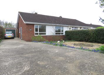 Thumbnail 2 bedroom semi-detached bungalow to rent in Holme Court Avenue, Biggleswade