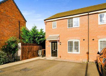 Thumbnail Semi-detached house for sale in Darter Way, Pineham Village, Northampton