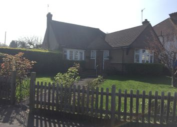Thumbnail 2 bed bungalow to rent in Oaklands Avenue, Oxhey Hall, Watford