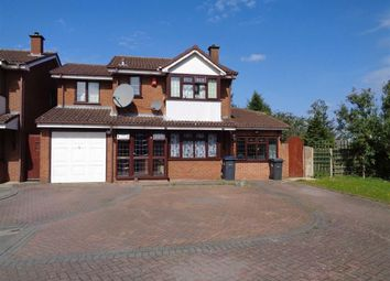 Thumbnail 4 bed detached house for sale in Ashby Close, Hodge Hill, Birmingham