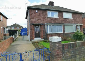 Thumbnail 2 bed semi-detached house for sale in Churchill Avenue, York Road, Doncaster.