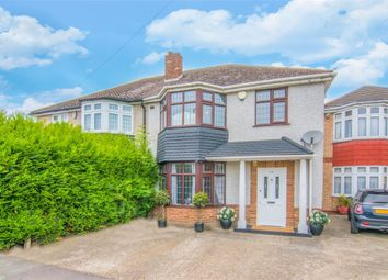 Thumbnail 3 bed semi-detached house for sale in Wensleydale Avenue, Ilford, Essex