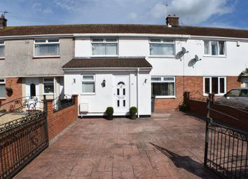 Thumbnail 3 bed terraced house to rent in Moorland Road, Bridgwater
