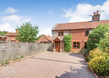Thumbnail 3 bed cottage for sale in Loddon Corner, Kirstead, Norwich