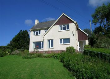 Thumbnail 4 bed detached house to rent in Down Lane, Braunton