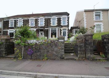 Thumbnail 4 bedroom end terrace house for sale in Wood Road, Treforest, Pontypridd