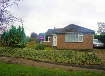 Thumbnail 3 bed detached bungalow for sale in Torksey Avenue, Saxilby