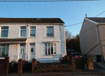 Thumbnail 4 bedroom end terrace house for sale in Brynhyfryd Terrace, Neath