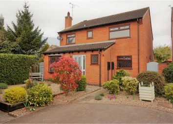 Thumbnail 4 bed detached house for sale in Johnson Close, Broughton Astley