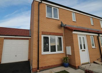 Thumbnail 3 bed semi-detached house for sale in Tanners Mews, Stanley, Crook