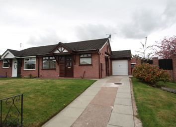 Thumbnail 2 bed bungalow to rent in Knights Meadow, Winsford