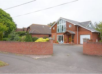 Thumbnail 4 bed detached house for sale in Stony Lane, Christchurch