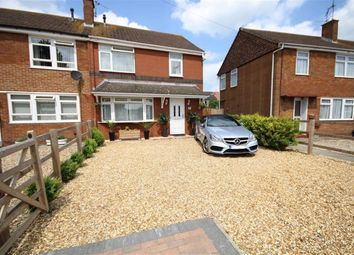 Thumbnail 3 bedroom semi-detached house for sale in Whitborne Avenue, Swindon, Wiltshire