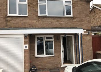 Thumbnail 4 bed detached house to rent in Newbury Close, Luton