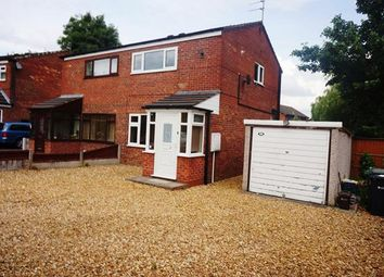 Thumbnail 2 bed semi-detached house to rent in Kingsley Drive, Northwich