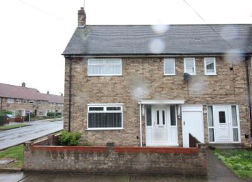 Thumbnail 2 bed end terrace house for sale in Rosedale Grove, Hull