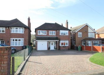 Thumbnail 4 bed detached house for sale in Watling Street, Grendon, Atherstone