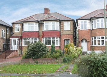 Thumbnail 3 bed semi-detached house for sale in Monkfrith Way, Southgate