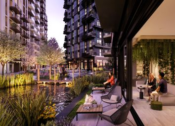 Thumbnail 2 bed flat for sale in Water Gardens, White City Living, White City