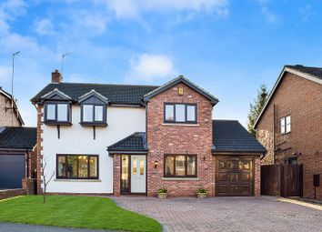 Thumbnail 4 bed detached house for sale in Danebower Road, Trentham, Stoke On Trent