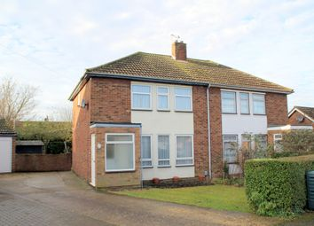 Thumbnail 3 bedroom semi-detached house for sale in Elm Walk, Royston