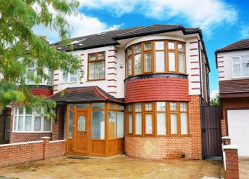 Thumbnail 3 bed semi-detached house for sale in Halstead Gardens, Winchmore Hill
