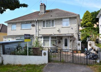 Thumbnail 3 bedroom semi-detached house for sale in Blandford Road, Plymouth, Devon