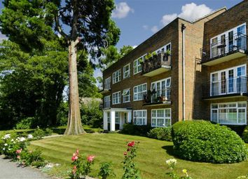 Thumbnail 2 bed flat for sale in Highridge Court, Epsom, Surrey