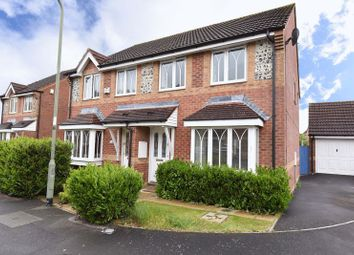 Thumbnail 3 bedroom semi-detached house for sale in Horseshoe End, Newbury