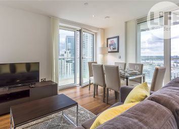 Thumbnail 3 bed flat for sale in Talisman Tower, 6 Lincoln Plaza, London