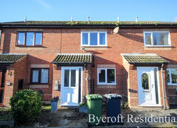 Thumbnail 2 bed terraced house for sale in Pyke Court, Caister-On-Sea, Great Yarmouth