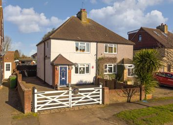 Thumbnail 3 bed semi-detached house for sale in Kingscroft Road, Banstead