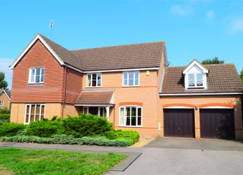 Thumbnail 5 bed detached house for sale in Samwell Way, Hunsbury Meadows, Northampton