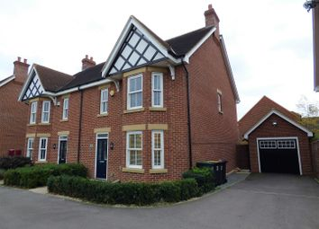 Thumbnail 4 bed semi-detached house for sale in Masters Close, Great Denham, Bedford