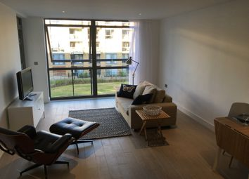 Thumbnail 1 bed flat to rent in Canalside Square, London