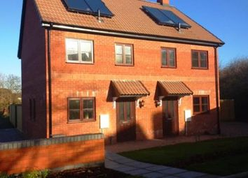 Thumbnail 2 bed semi-detached house for sale in Cullompton, Devon