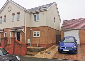 Thumbnail 3 bed semi-detached house to rent in Modern Home, Gentian Way, Weymouth