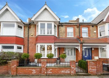 Thumbnail 3 bed terraced house for sale in Wellington Road, Wimbledon Park, London