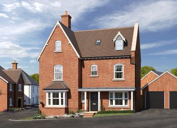 Thumbnail 5 bed detached house for sale in Cypress Road, Rugby