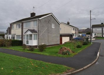 Thumbnail 3 bedroom property to rent in Garreglwyd Park, Holyhead