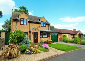 Thumbnail 3 bed detached house for sale in Meadow Drive, Binbrook, Market Rasen